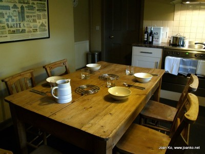 Kitchen at Nanceglos House