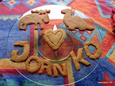 Gingerbread presents