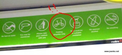 On the tram: the rules
