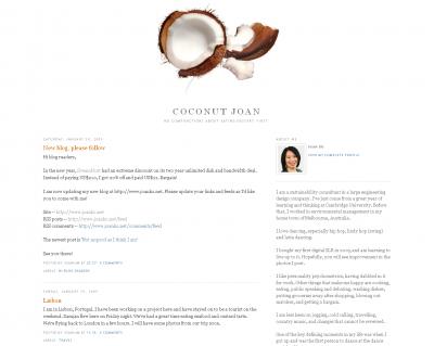 Coconut Joan on Blogger
